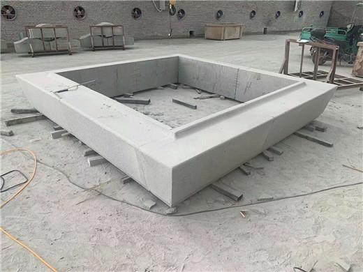 芝麻白异型坐凳